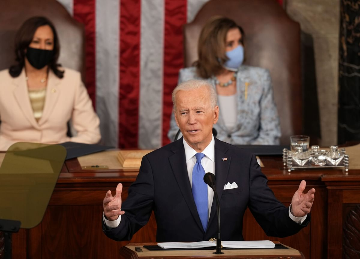 What Biden Said About China in His First Speech to Congress