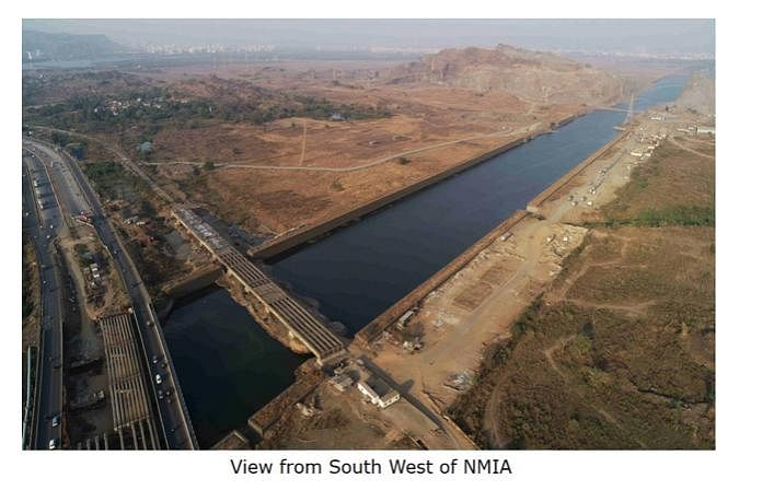 View from South West of Navi Mumbai International Airport(Source: CIDCO)