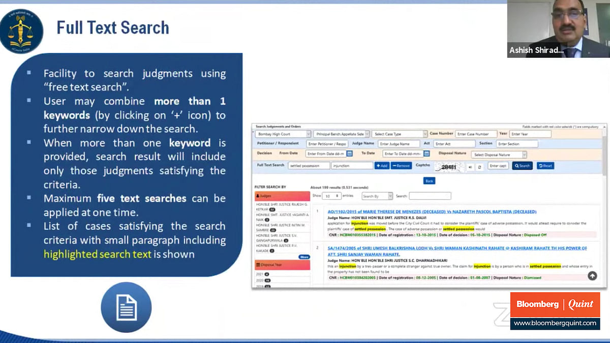 Unveiling of the judgment search portal by the Supreme Court eCommittee