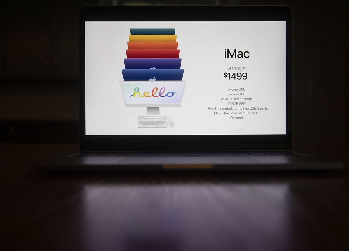 Apple Launches Redesigned iMac Desktop With Colors, Custom Chip