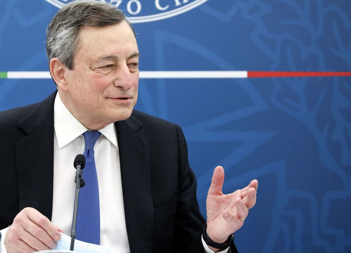 Draghi to Tell Parliament How He'll Spend Billions in EU Aid