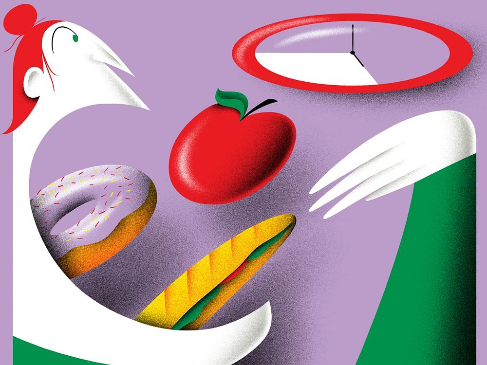 For Greater Productivity, Watch What—And When—You Eat