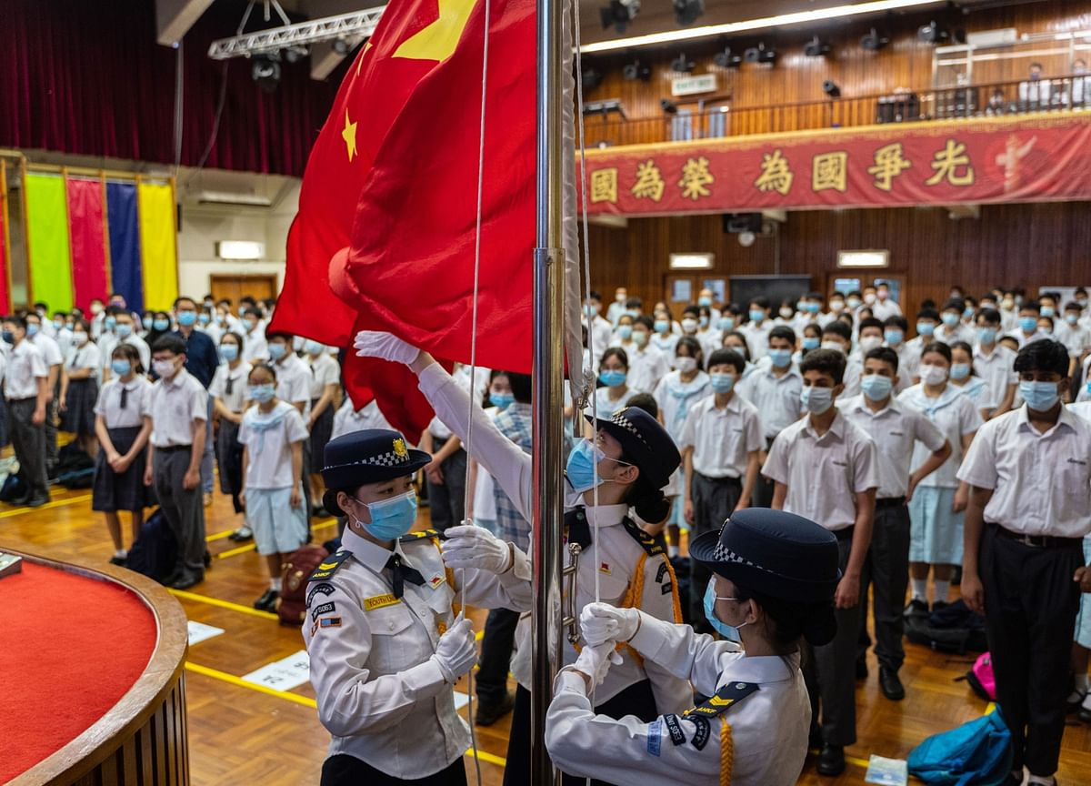 Hong Kong Schools Devote a Day to China's National Security