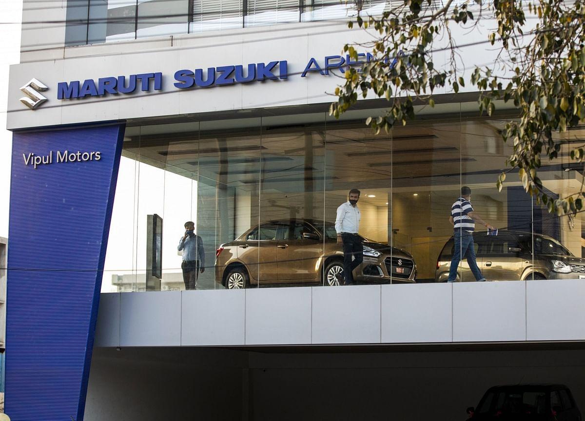 India Top Carmaker's Profit Narrows as Covid Hits Demand