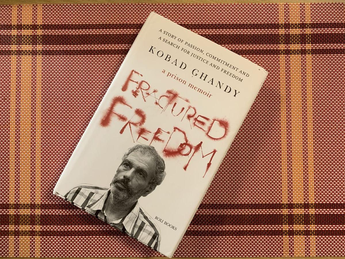 Kobad Ghandy's 'Fractured Freedom'. (Photograph: Priya Ramani)