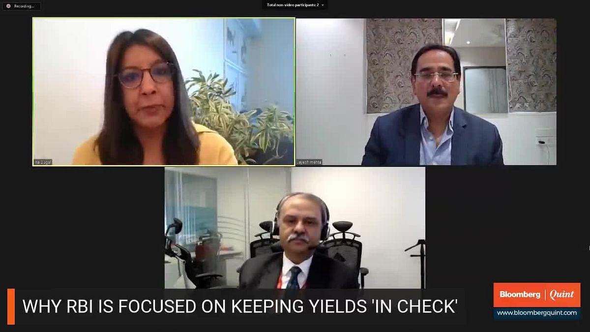 Hitendra Dave & Jayesh Mehta On Bonds, Rupee Volatility & Economy