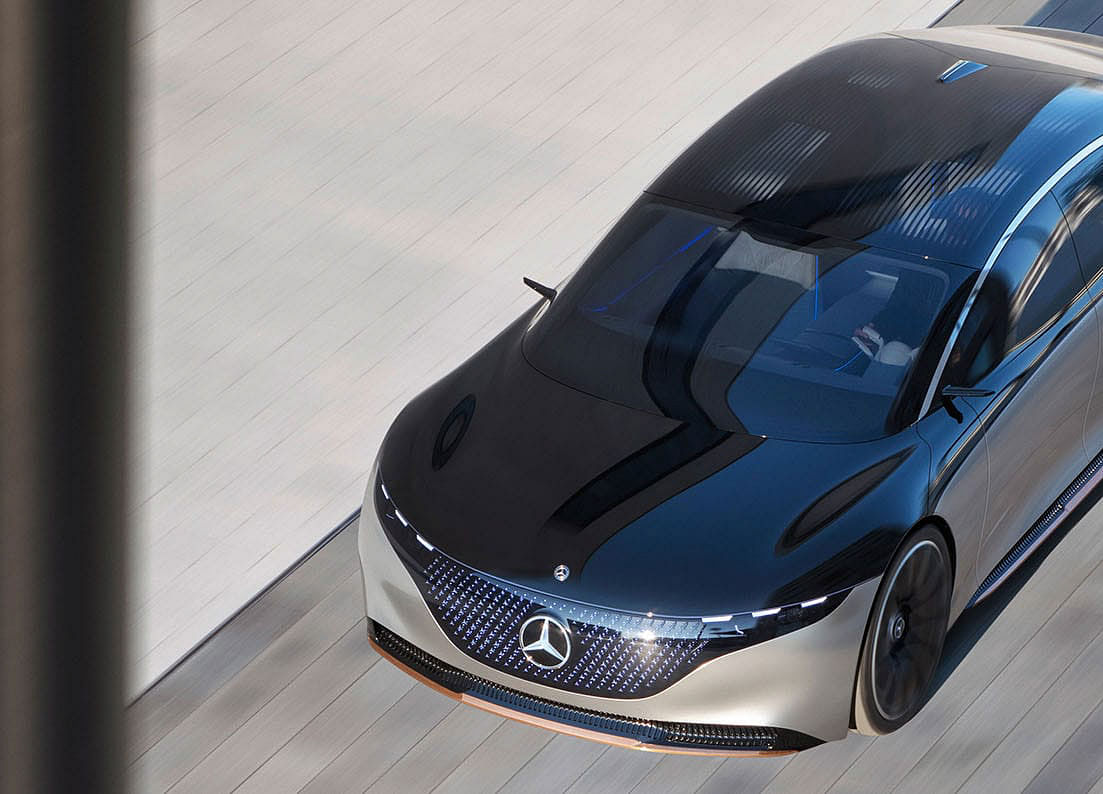 The New Mercedes Is a Mix of Tesla and Ferrari