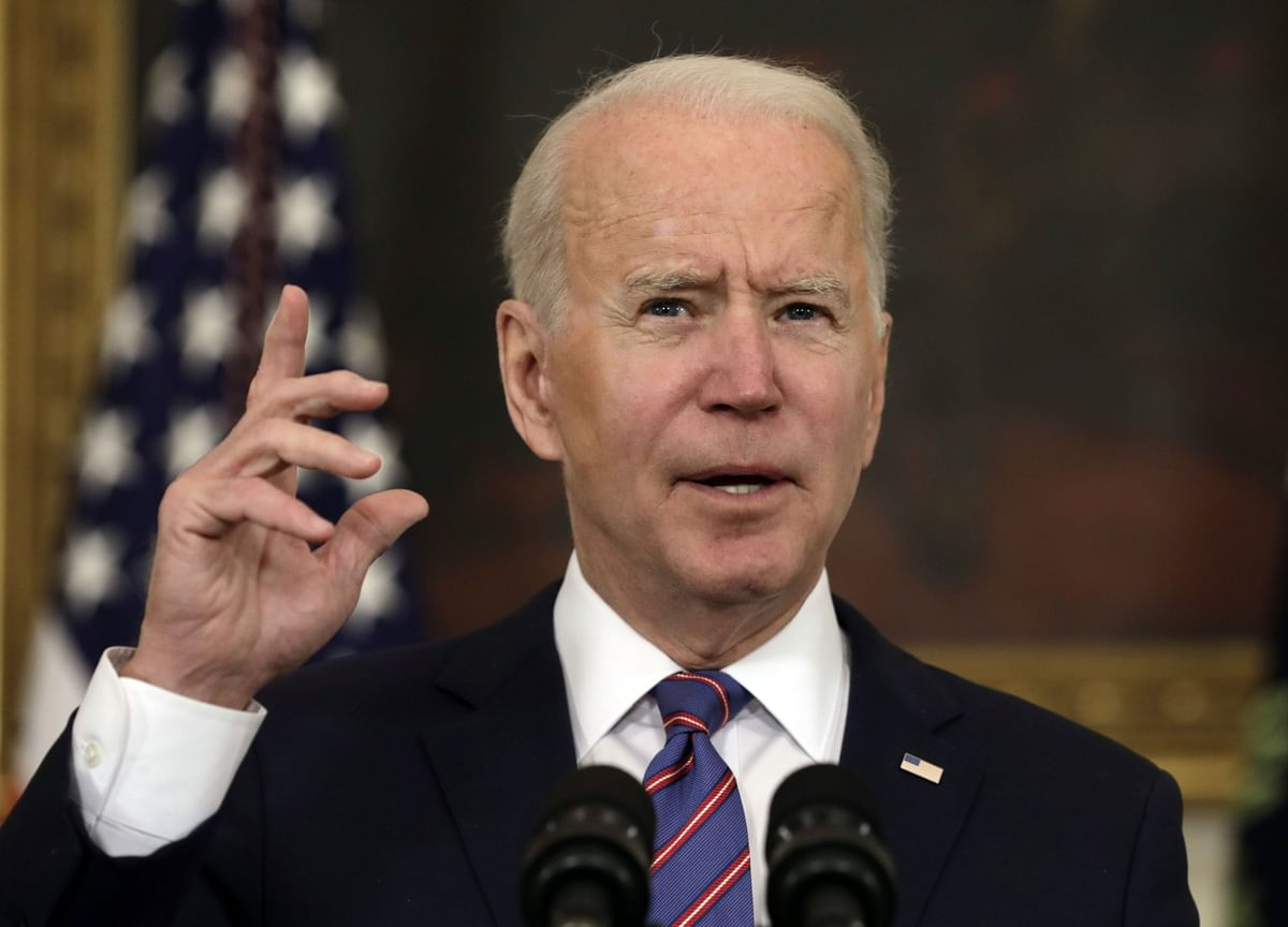 Biden Says States Should Open Shots to All Adults by April 19