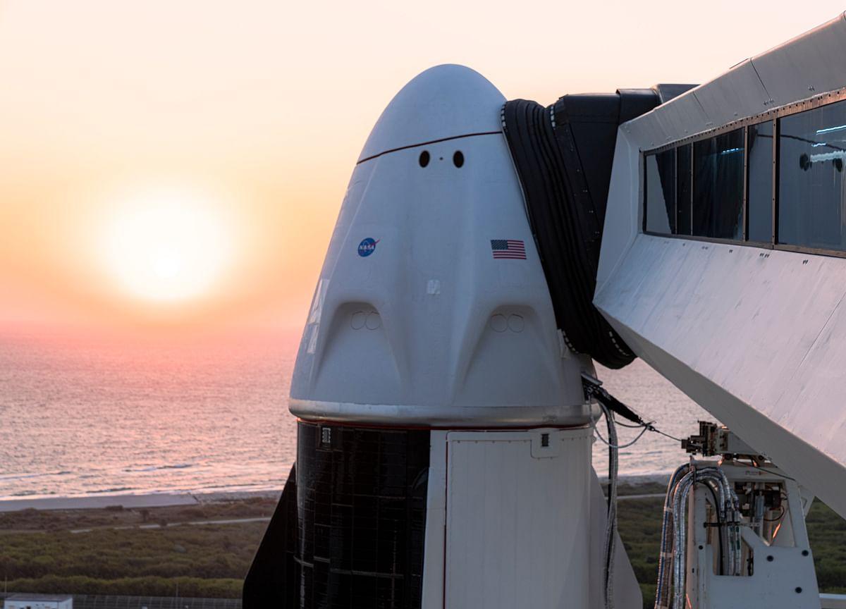 SpaceX Flies ISS Crew in First Trip on Used Capsule, Rocket
