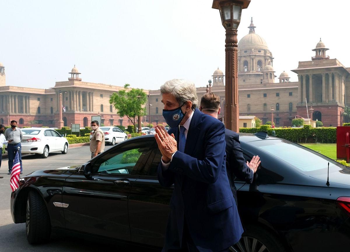Kerry, Modi Talk as India Mulls Net Zero Target Ahead of Meet