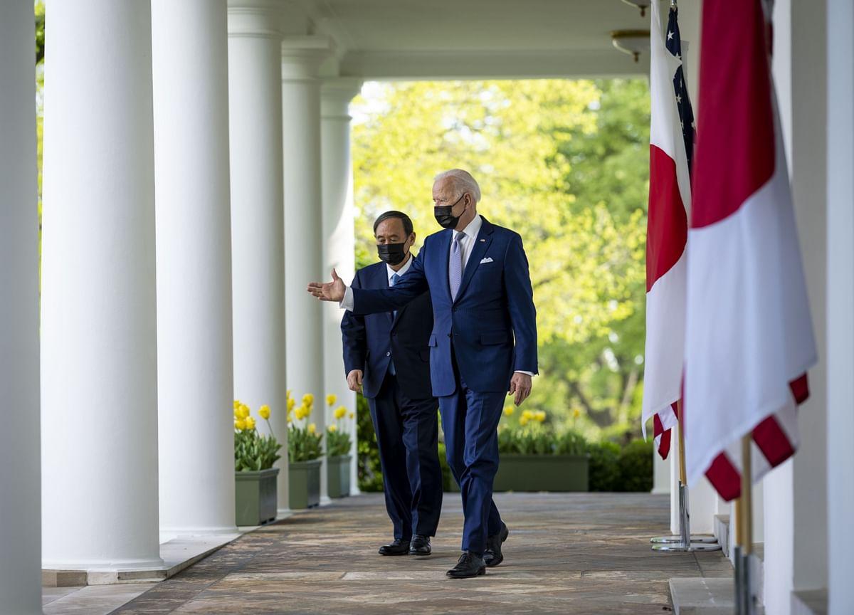 China Rebuffs Biden, Suga Following Sharp U.S.-Japanese Comments