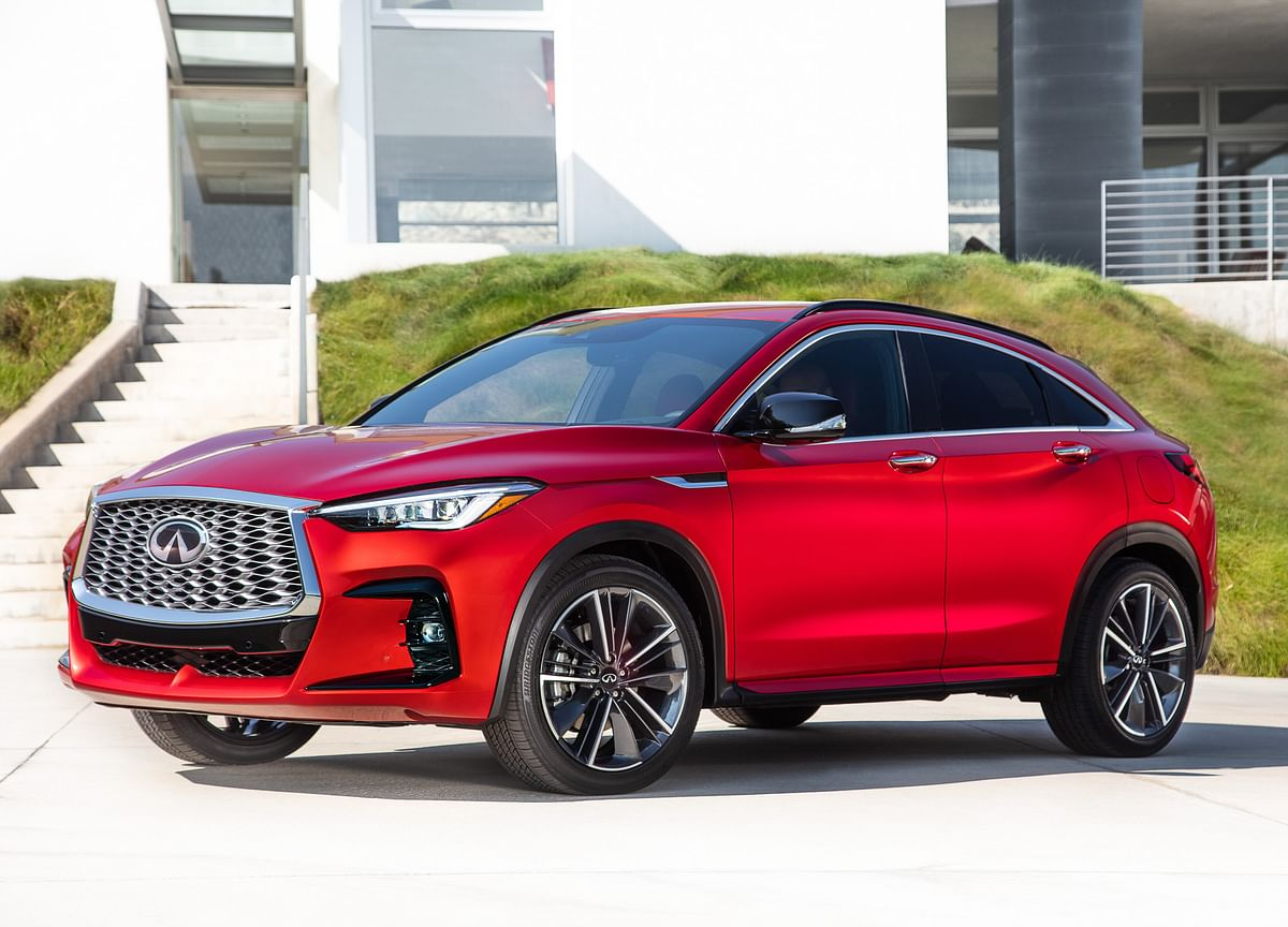 The 2022 Infiniti QX55 Is Perfectly Capable, Utterly Forgettable
