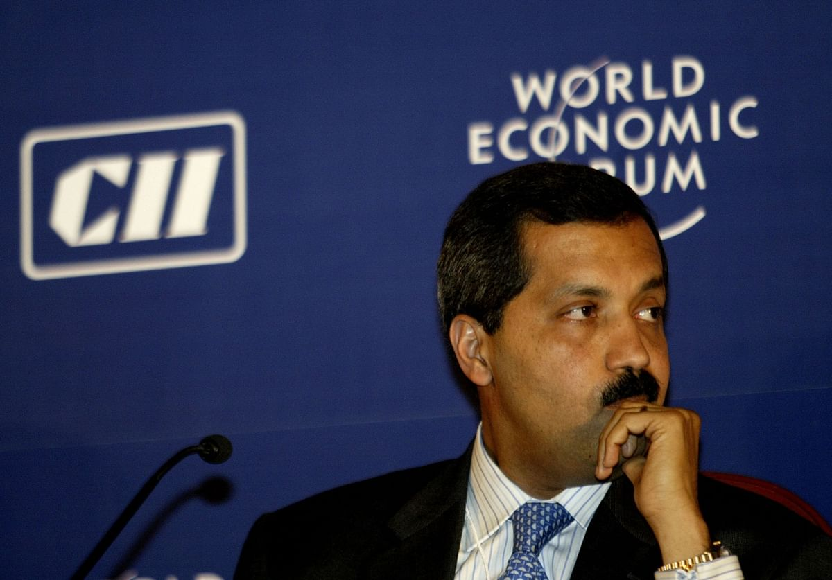 Former Citibank India Chief Executive Sanjay Nayar at the World Economic Forum - India Economic Summit, in New Delhi in November 2006. (Photographer: Amit Bhargava/Bloomberg News)