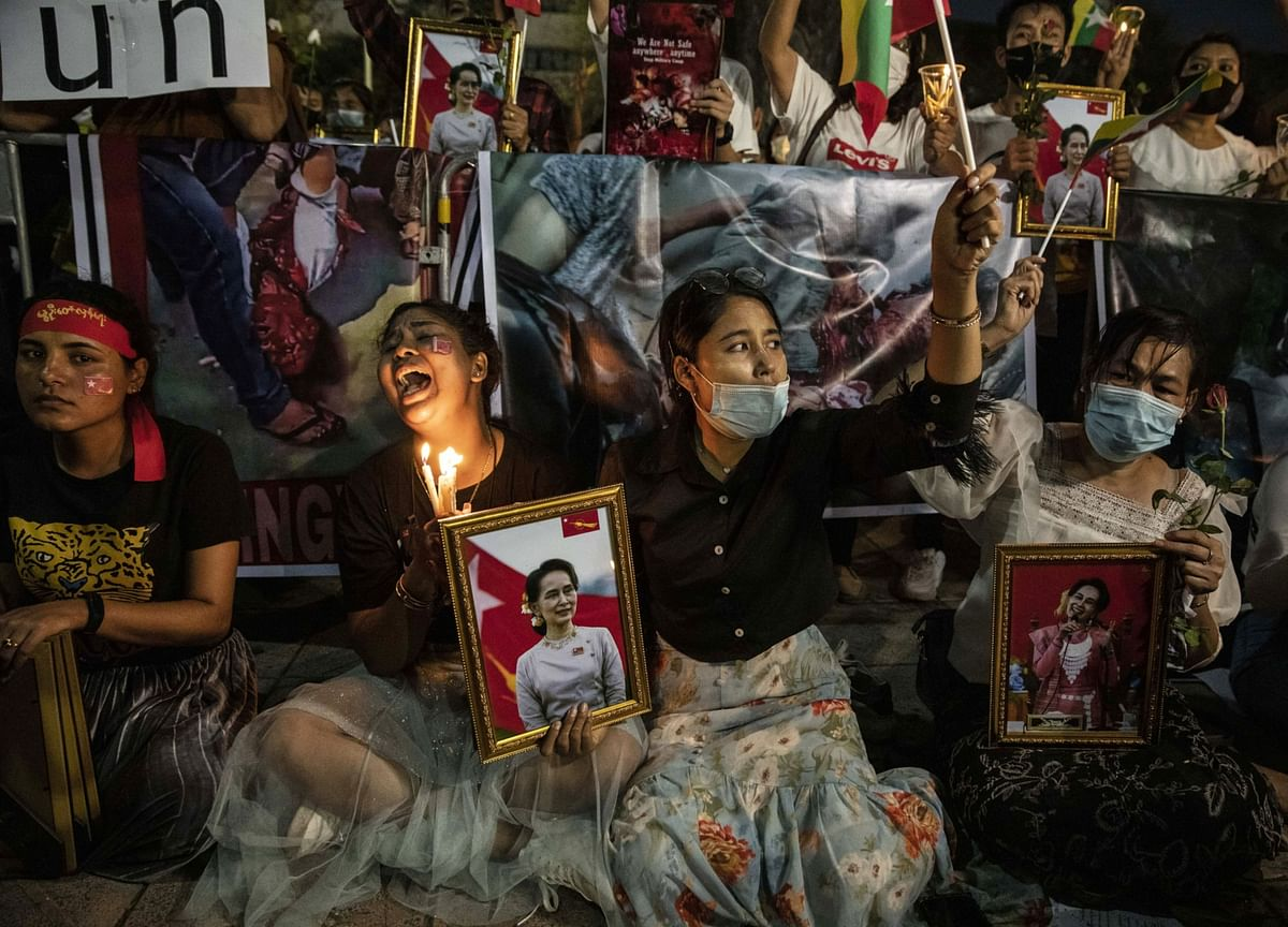 Myanmar Extends Martial Law to Western State as Unrest Grows