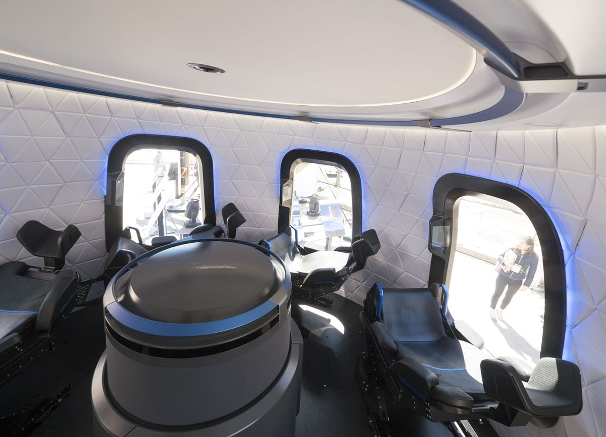 Bezos's Blue Origin Sets First Human Spaceflight for July 20