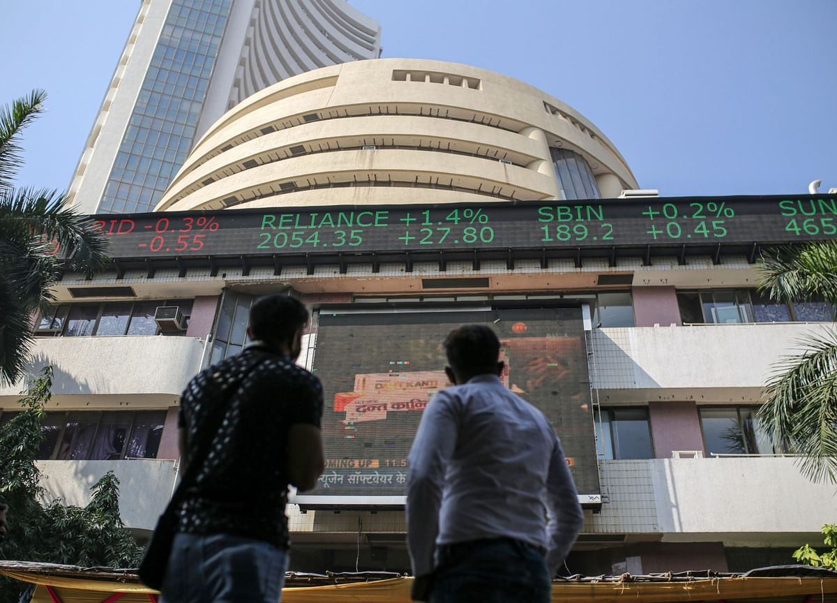 Sensex, Nifty Slip From Record; Adani Stocks Slide For A Third Day