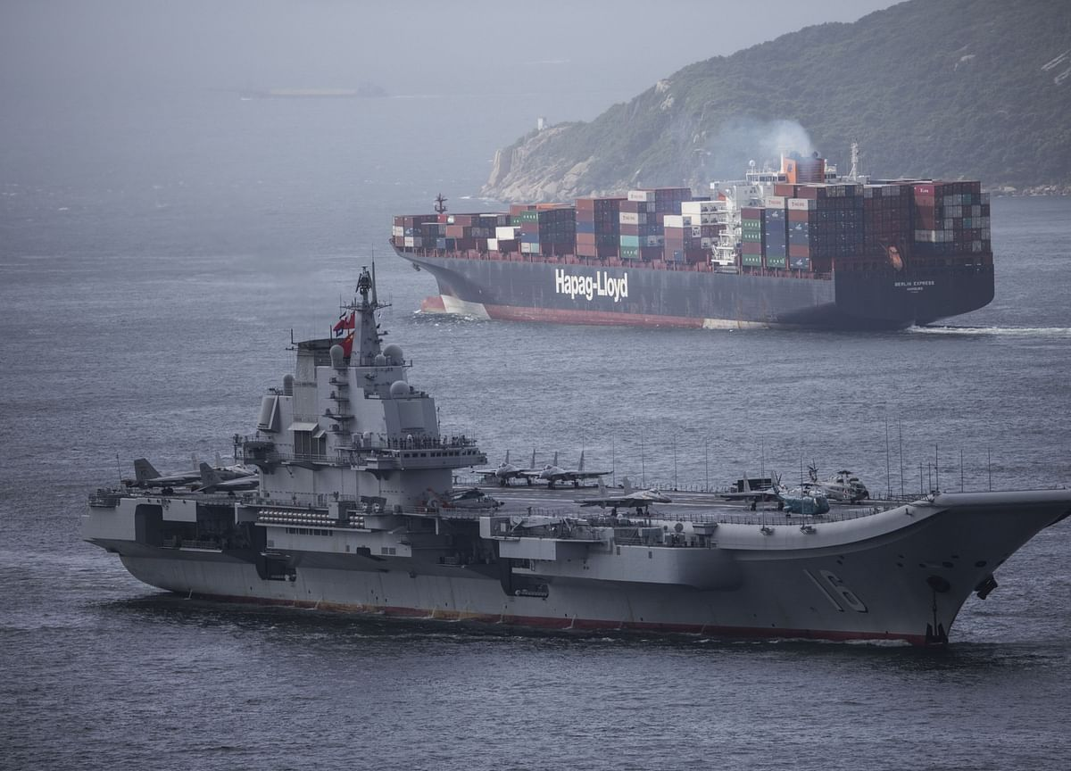 Biden Says U.S. Must Defend Sea Lanes in Arctic, South China Sea
