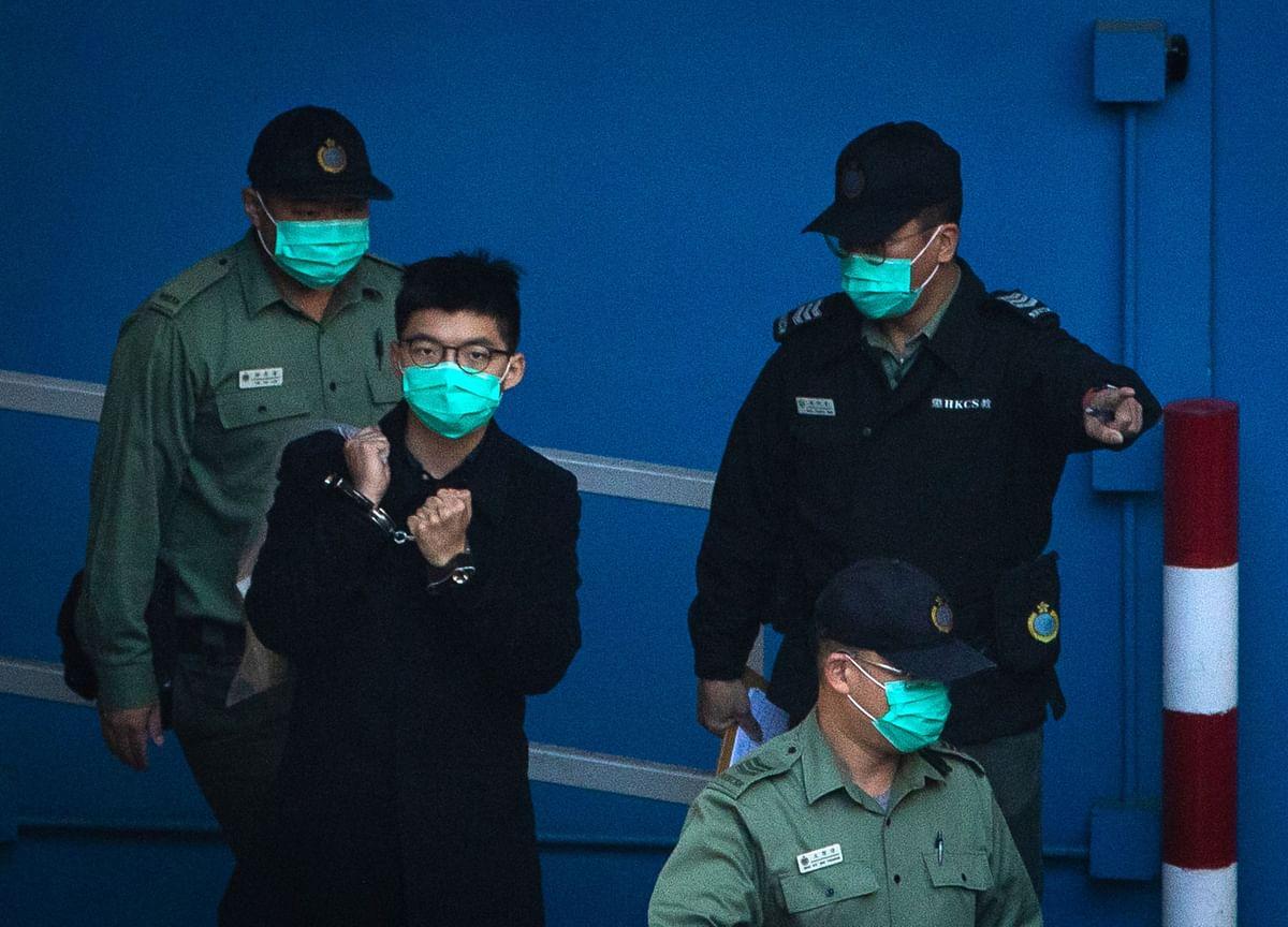 Joshua Wong's Hong Kong Prison Sentence Keeps Getting Longer