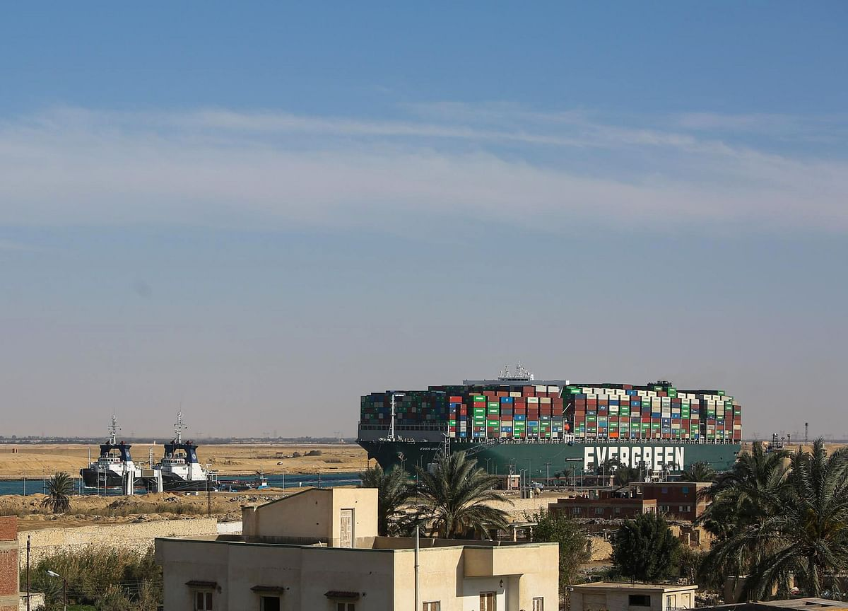 Judge Says Giant Ship That Blocked Suez Can't Leave Canal Yet