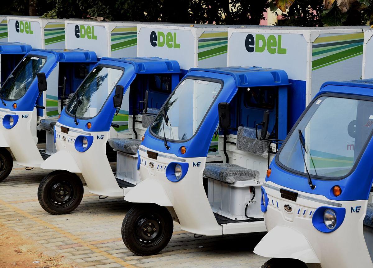 Mahindra Logistics' New Battery-Powered Fleet Adds 300 EVs