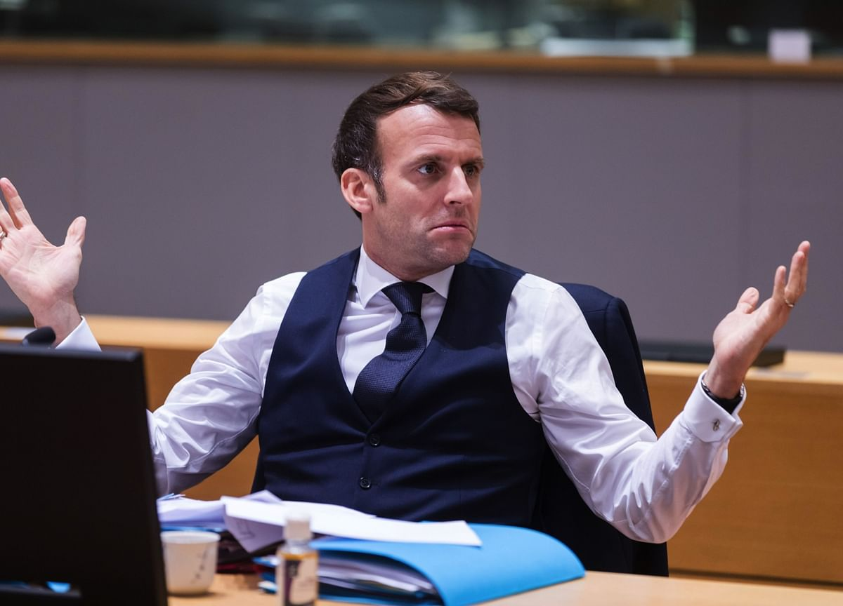 President Macron Slapped While Visiting Southern France