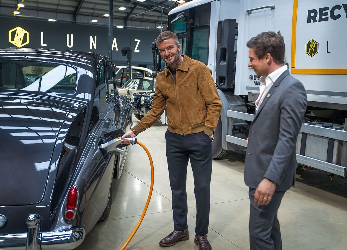 With Electric Car Investment, David Beckham Did It for the Trucks