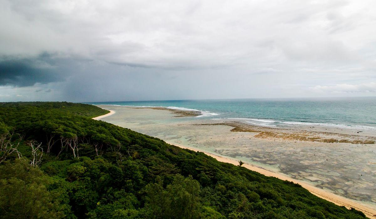 """<div class=""""paragraphs""""><p>A view of South Bay, Little Andaman island.&nbsp;(Photograph: Adhith Swaminathan, Via Neha Sinha)&nbsp;</p></div>"""