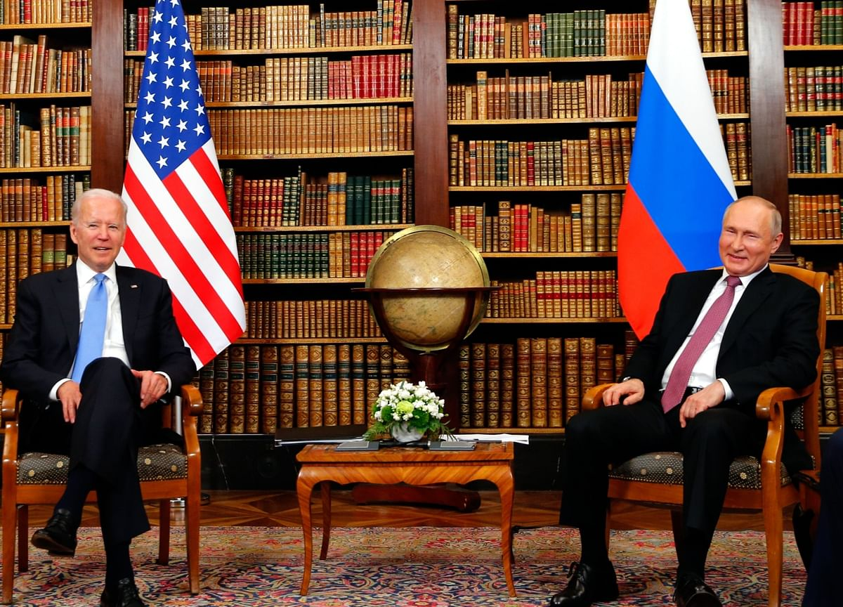 Biden, Putin Conclude Geneva Summit After About 2.5 Hours