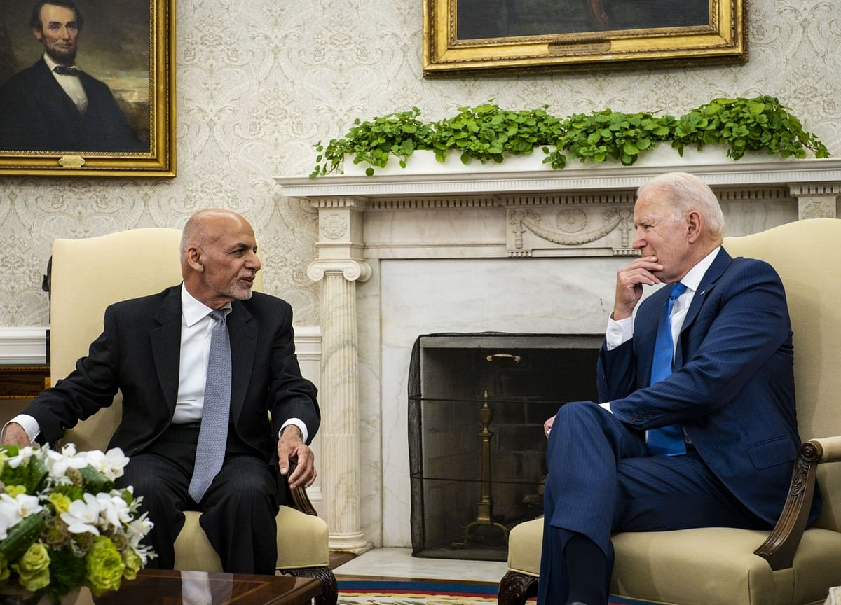 Biden Tells Afghanistan's Ghani U.S. Will 'Stick With You'