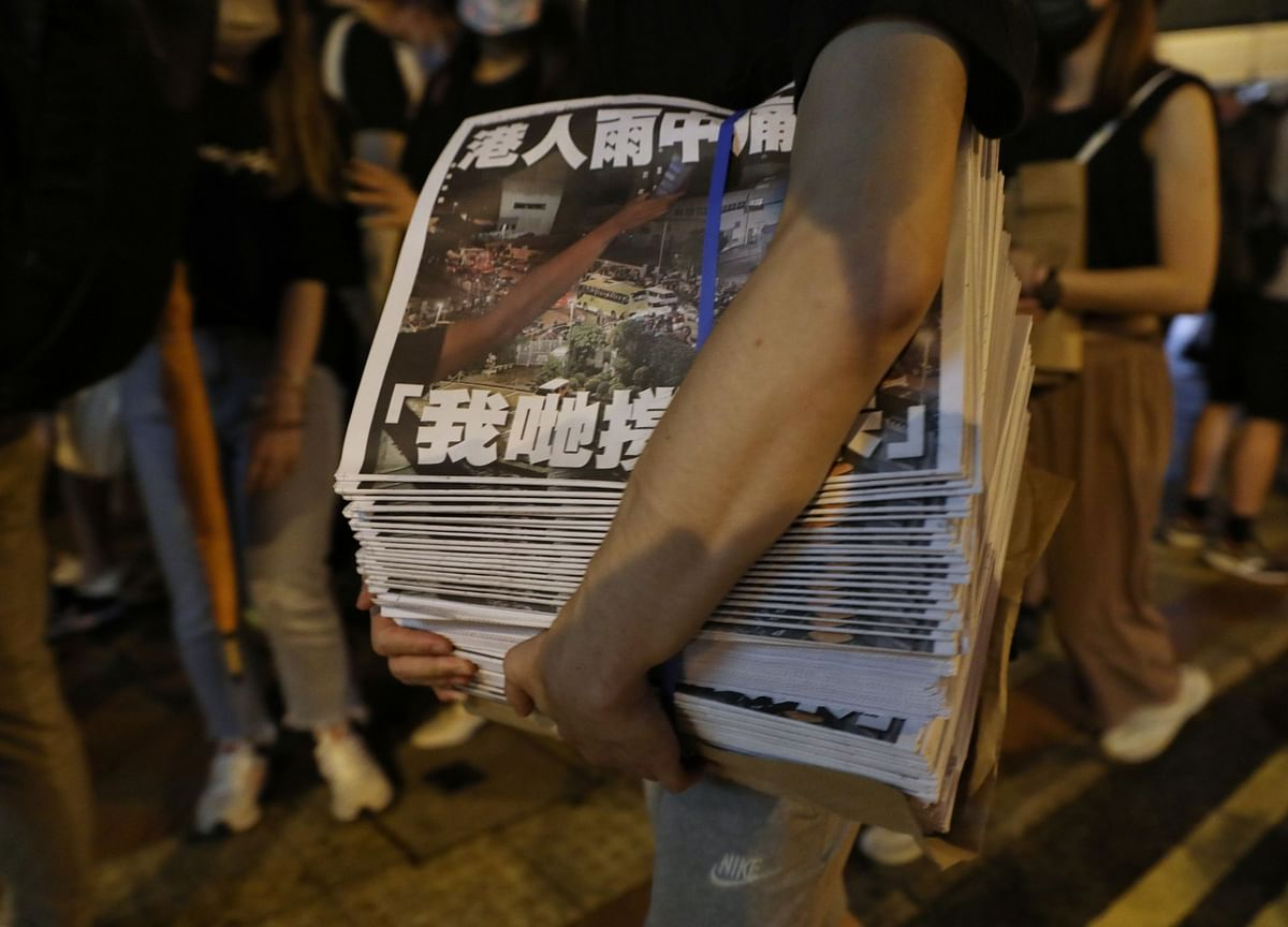 Fear Grips Other Hong Kong Media After China Crushes Apple Daily