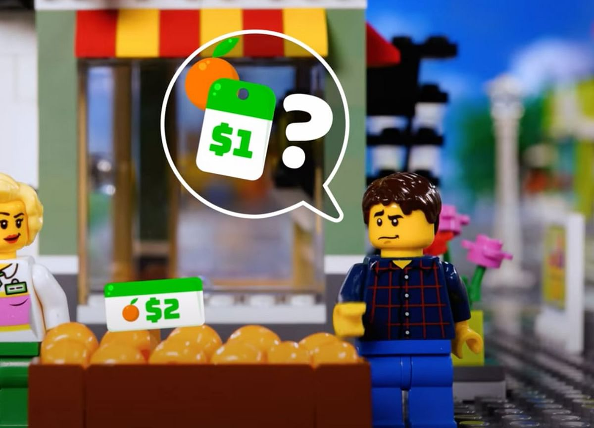 Federal Reserve Builds Lego Town to Explain Inflation