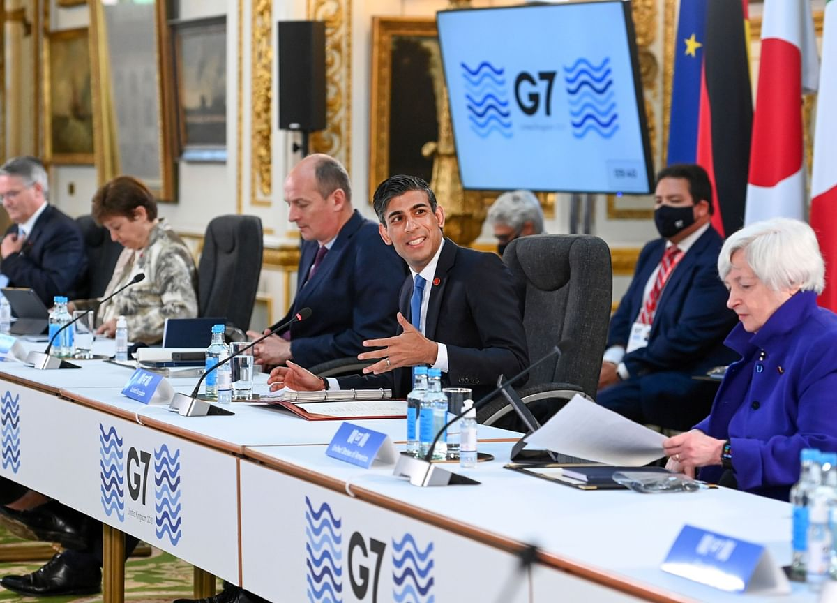G-7 Nears Deal on Minimum Tax, Still Talking on Tech Levies