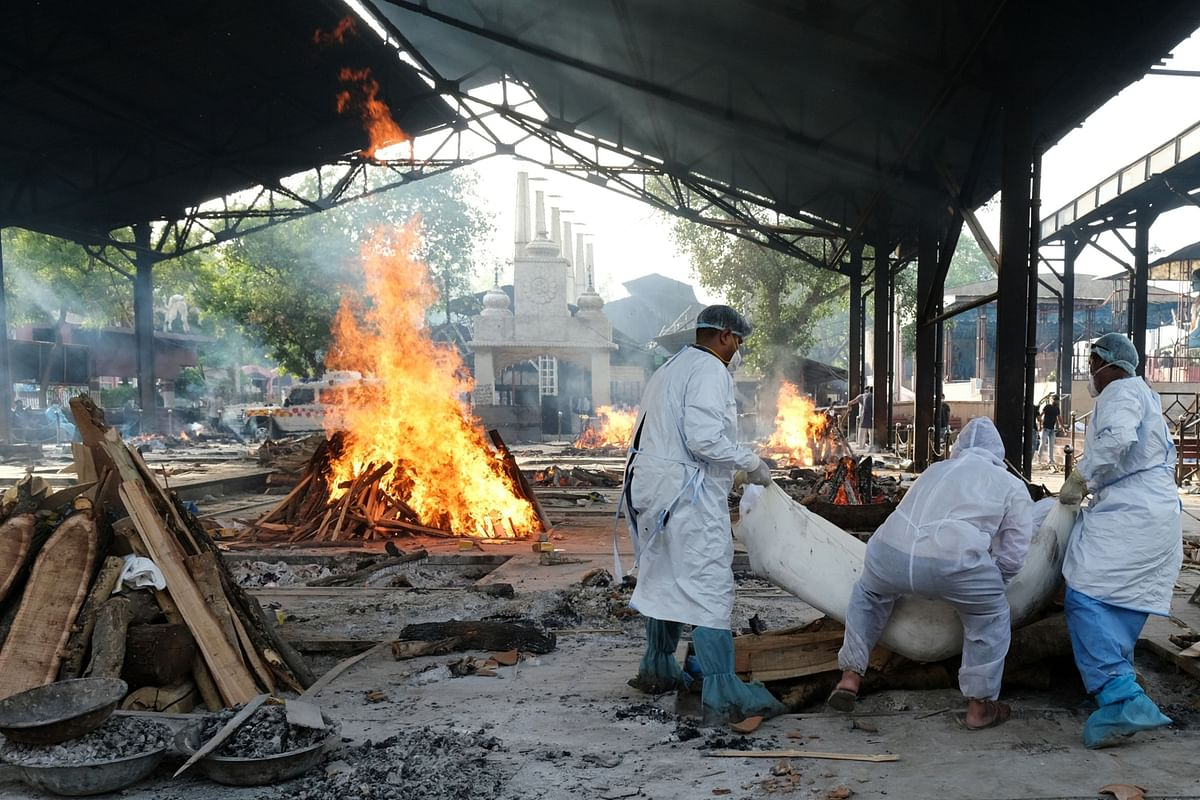 India Marks Record Daily Covid Deaths After State Adjusts Data