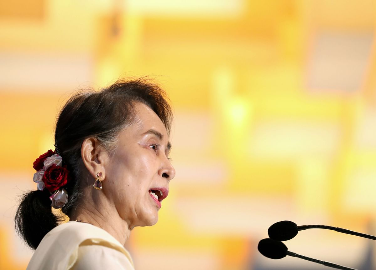 Myanmar Junta Moves Aung San Suu Kyi To 'Unknown Location'