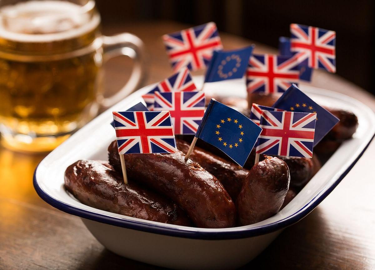 U.K., EU Hold Brexit Talks as Sausage Spat Spills Into G-7