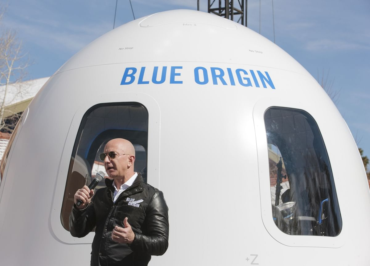 Bezos's Blue Origin Mocks Branson Rocket as High-Altitude Plane