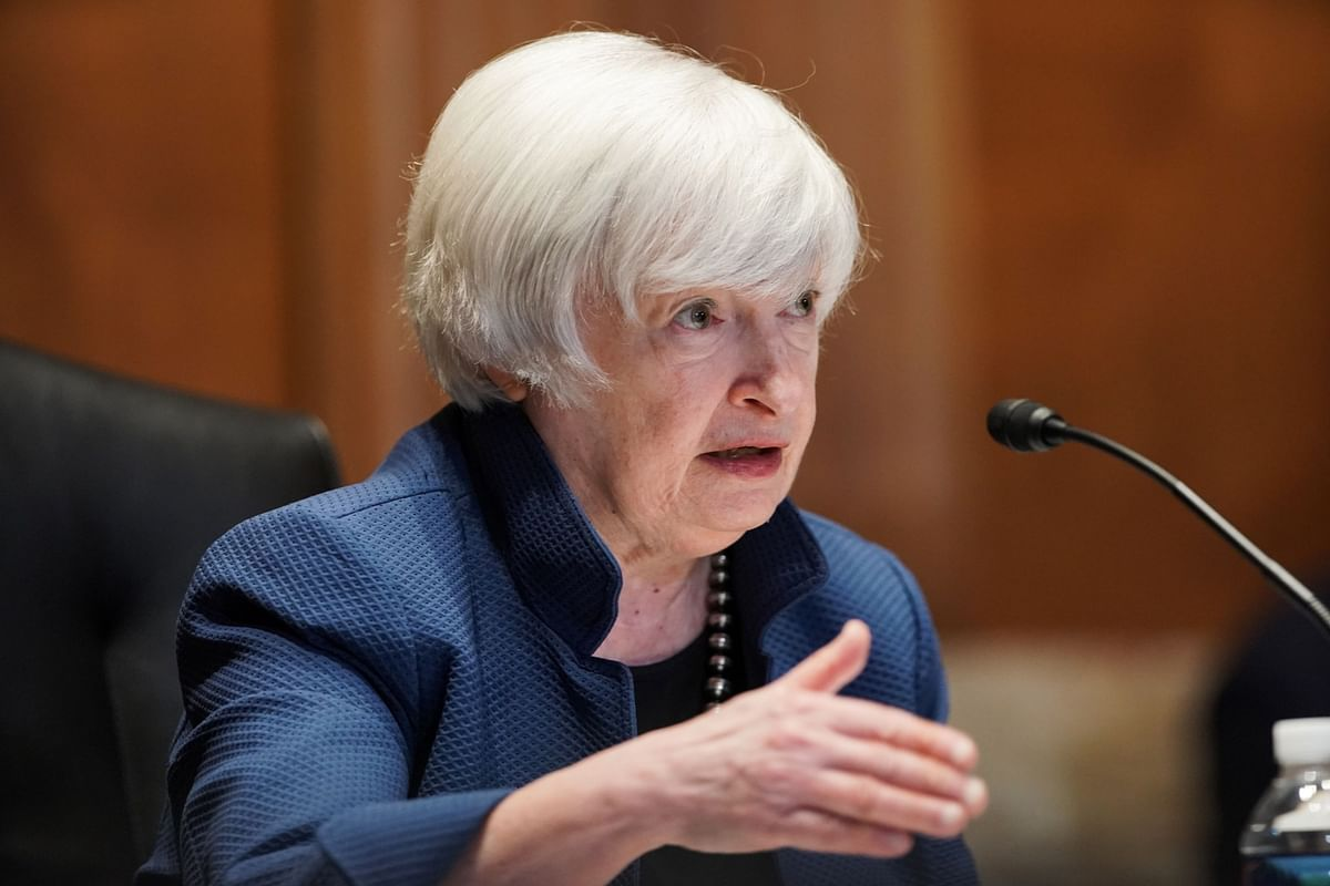 Yellen Warns of Default Risk by October Without Debt-Limit Hike