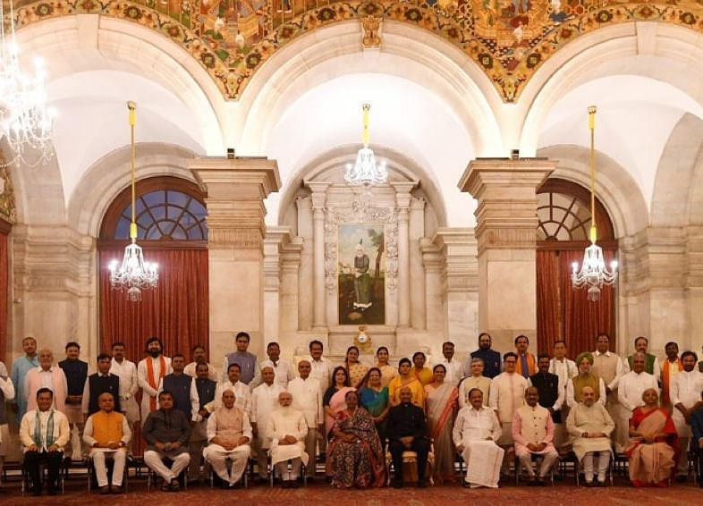 Prime Minister Modi's New Cabinet— Old And New Ministers And Their Portfolios