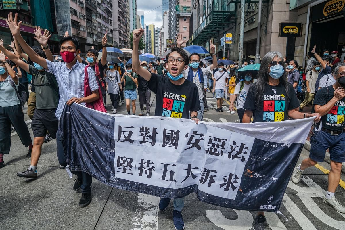 Hong Kong Protest Group Disbands Under Government Pressure