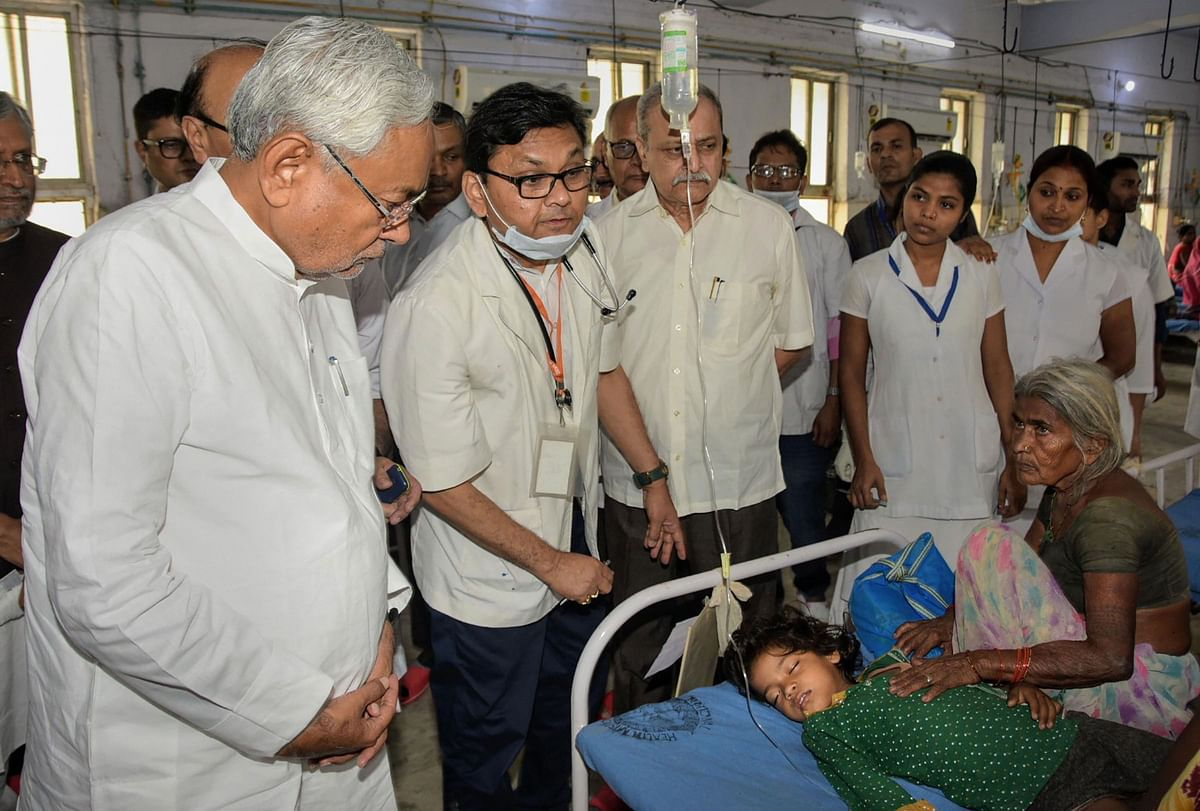 Bihar Children Deaths: Protests Greet Nitish Kumar During ...