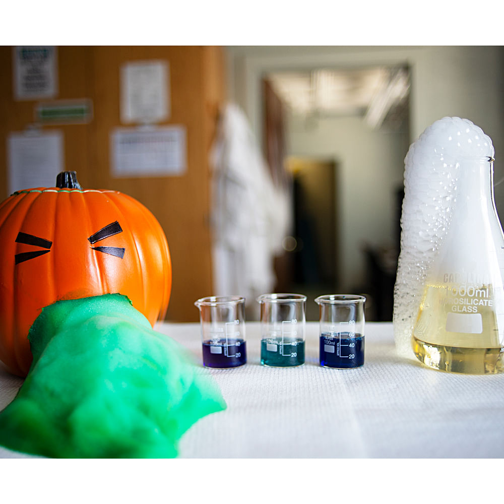 Chemoween and Other Spooky Science