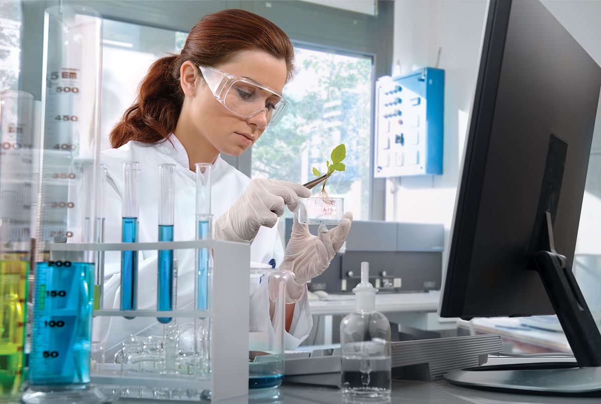 Lab Goggles and Nitrile Gloves