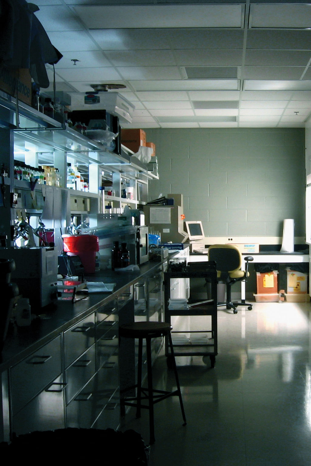 A vacant lab