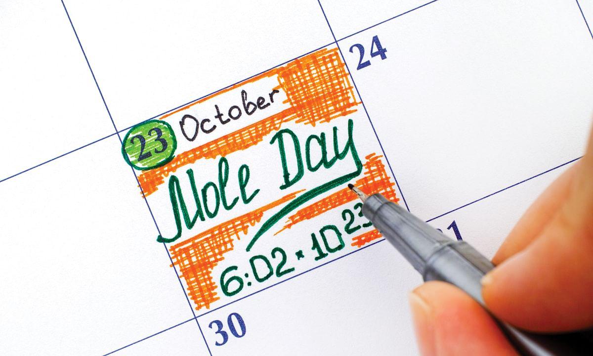 Mole Day (October 23) Celebration
