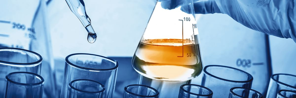 Chemicals in the laboratory