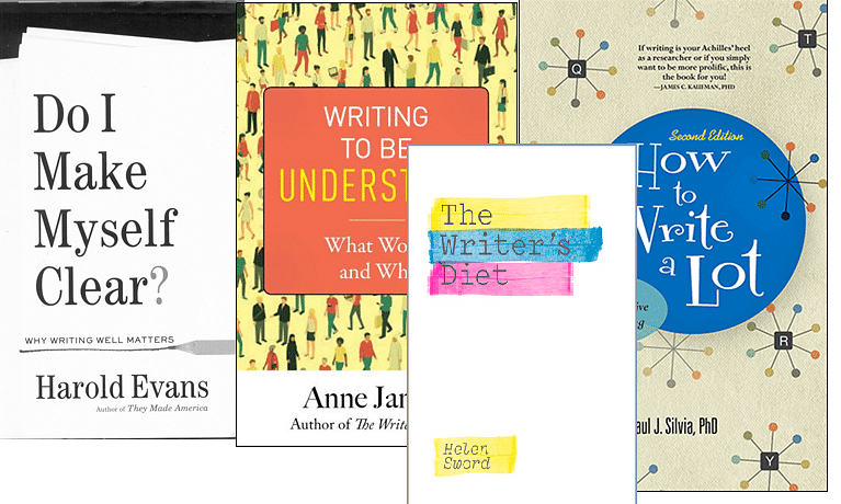 Books for better science writing