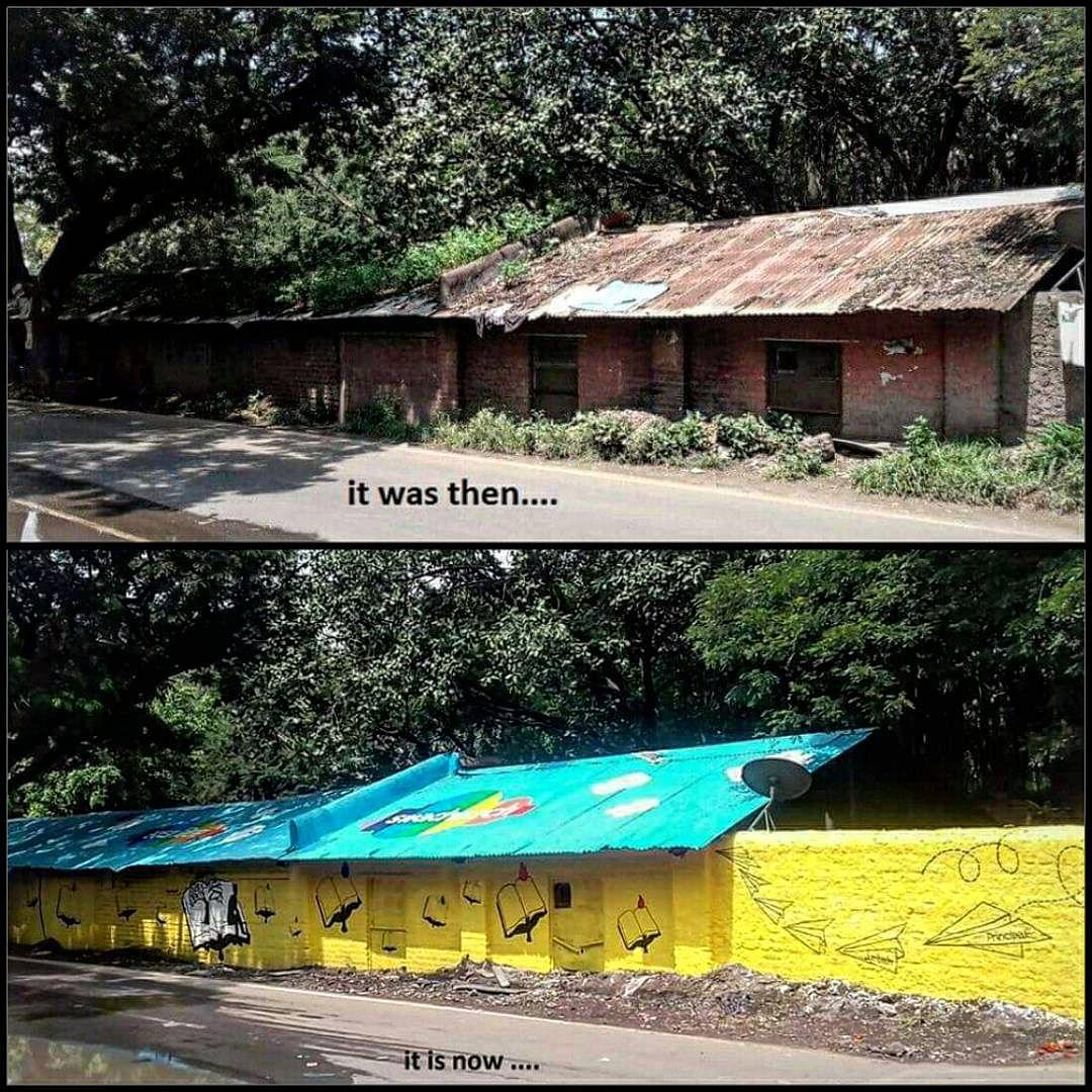 Jehangir Nagar: Wall Art