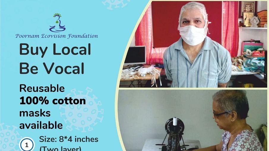 Reusable cotton masks