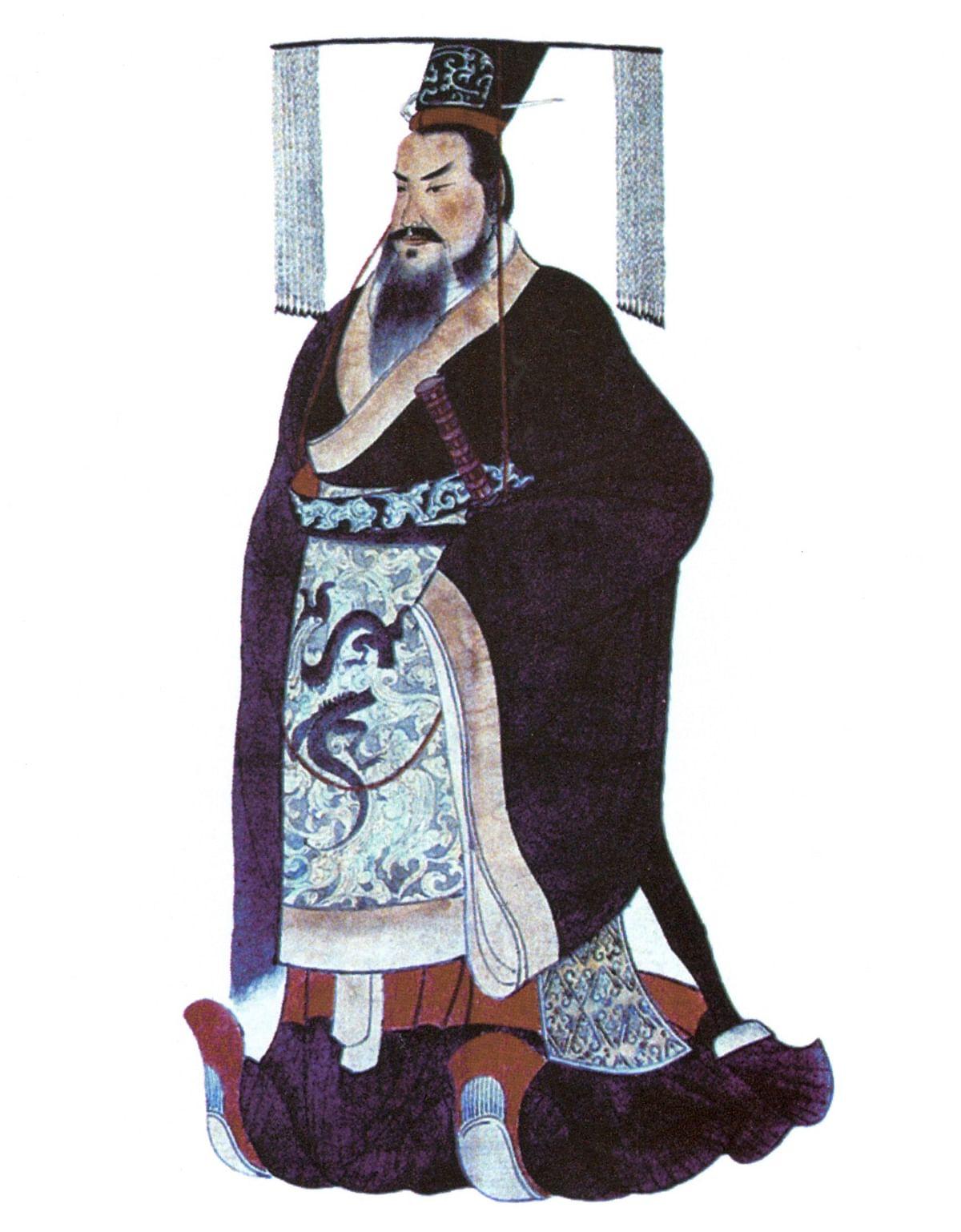 Chinese Emperor Hsi Hwang Ti