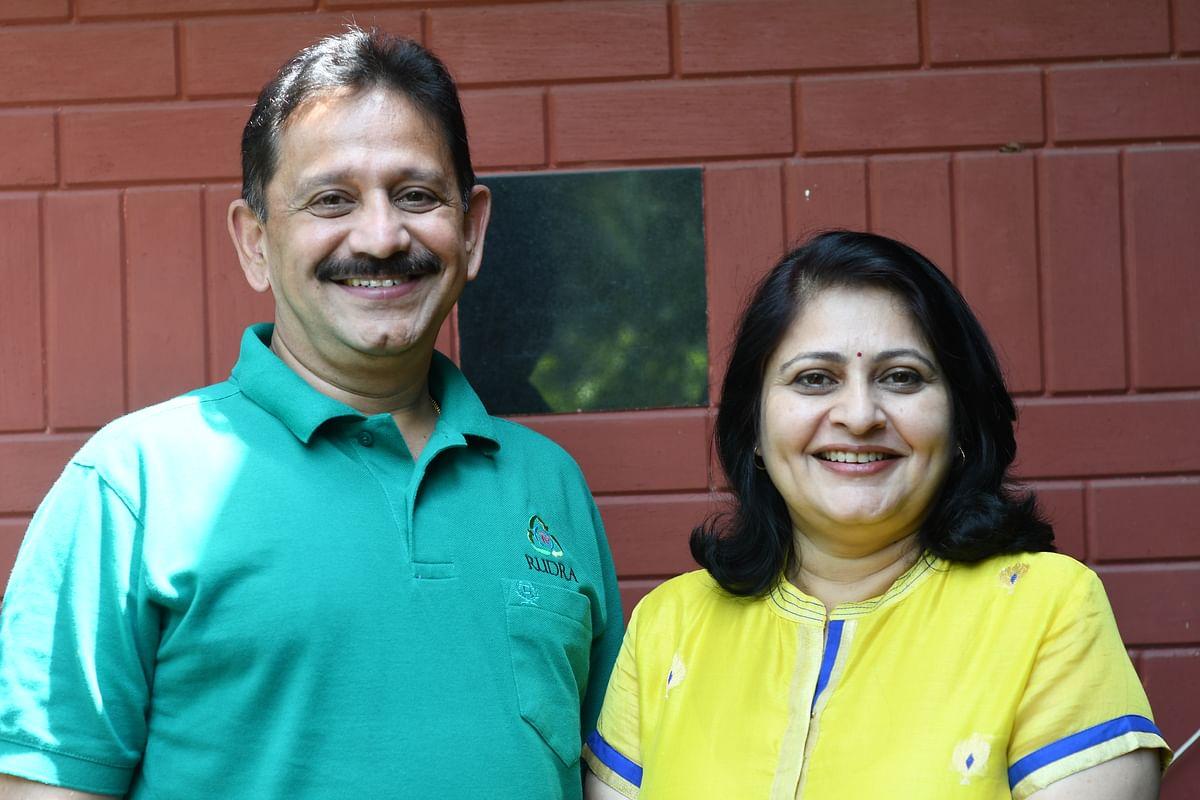 Founders Shirish Phadtare and Medha Tadpatrikar